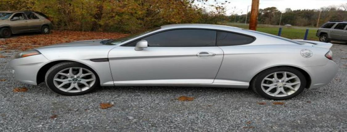 2007 HYUNDAI TIBURON                GT